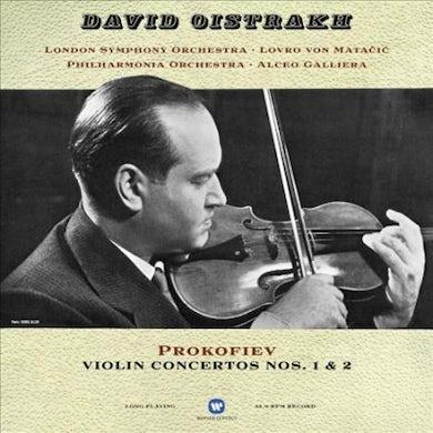 David Oistrakh Prokofiev: Violin Concertos Vinyl Record
