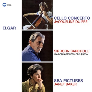 Jacqueline Du Pre Elgar: Cello Concerto, Sea Pictures Vinyl Record