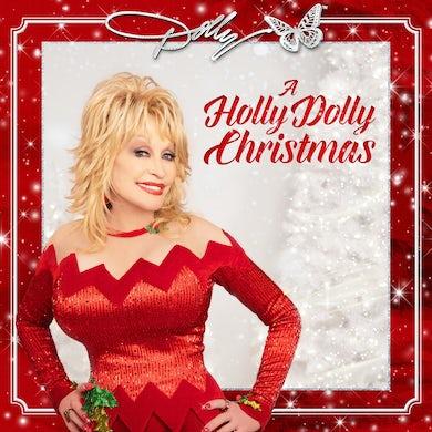 Dolly Parton A Holly Dolly Christmas (Red Vinyl) Vinyl Record