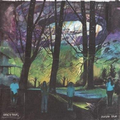 Purple Blue Vinyl Record