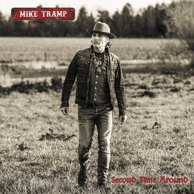 Mike Tramp Second Time Around (Limited Edition Red Vinyl) Vinyl Record