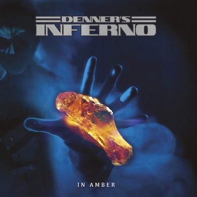 Denner'S Inferno In amber Vinyl Record