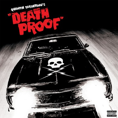 Quentin Tarantino Death Proof Red/Black/Clear Vinyl Record