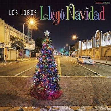 Los Lobos LLEGO NAVIDAD (RED VINYL) Vinyl Record