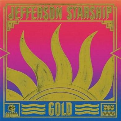 Jefferson Starship Gold Vinyl Record