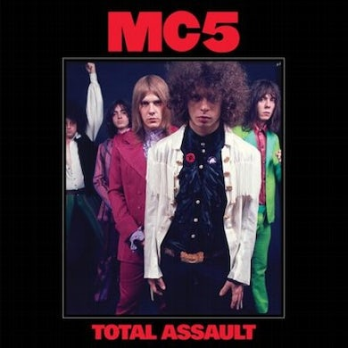 MC5 Total Assault (50th Anniversary Collection) Vinyl Record