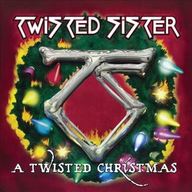 Twisted Sister Twisted Christmas (Green) Vinyl Record