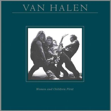 Van Halen Women and Children First Vinyl Record