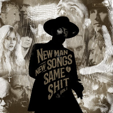New Man, New Songs, Same Shit, Vol. 1 (Clear Vinyl Gatefold) Vinyl Record