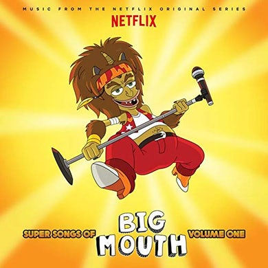 Super songs of big mouth v1(music from netflix series) lp Vinyl Record