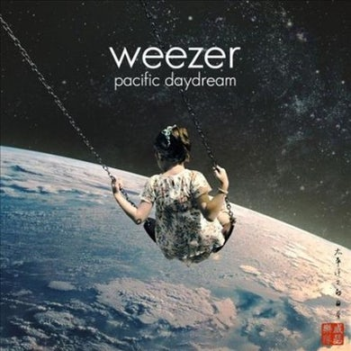 Weezer  Pacific Daydream (Red) Vinyl Record
