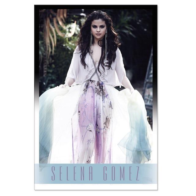 Selena Gomez White Dress Poster