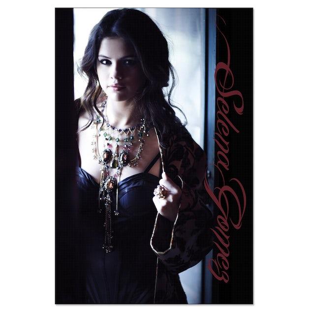 Selena Gomez Blue Dress Poster