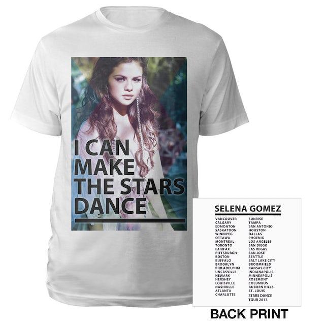 Selena Gomez I Can Make The Stars Dance Tour Tee