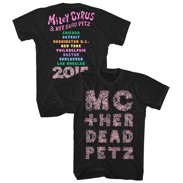 Miley Cyrus Dead Petz Tour Tee