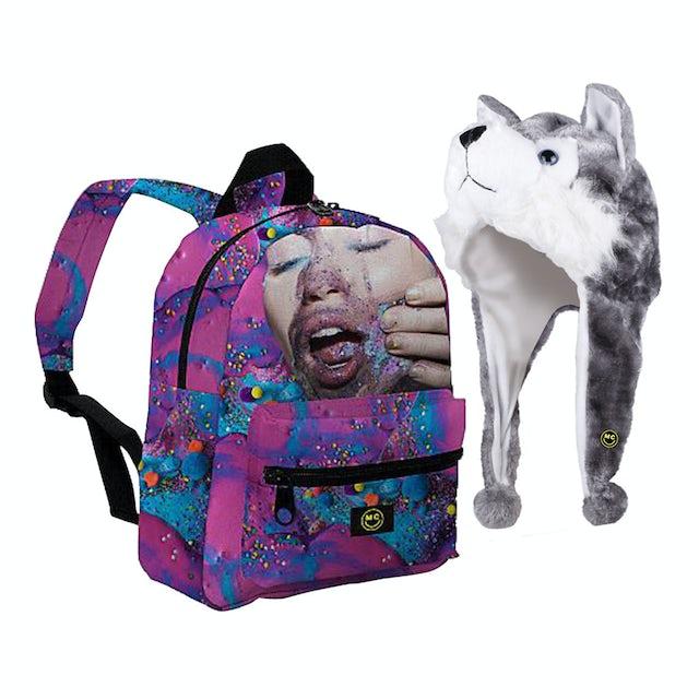 Miley Cyrus Backpack & FREE Hood Bundle