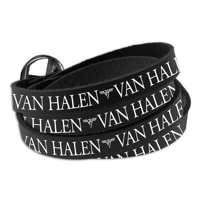 Van Halen Wrap Around Leather Bracelet