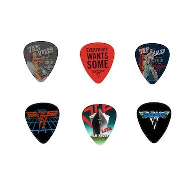 Van Halen World Tour 2015 Guitar Pick Set