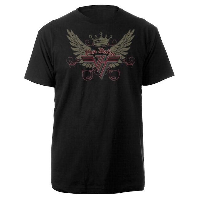 Van Halen Winged Crown Logo Tee