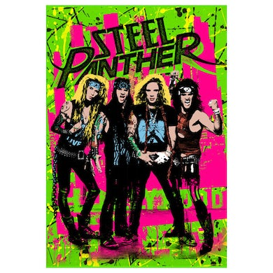 Steel Panther Poster