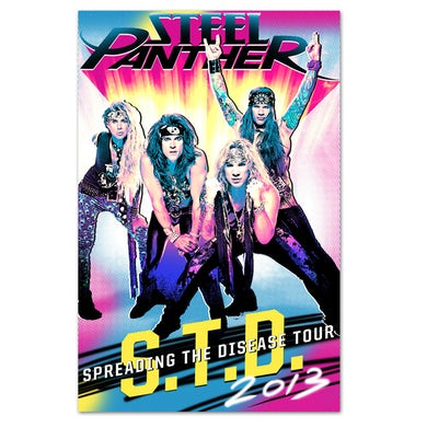 Steel Panther STD 2013 Poster