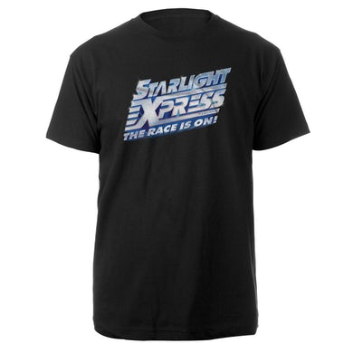Original Cast: Starlight Express Black Logo T-shirt