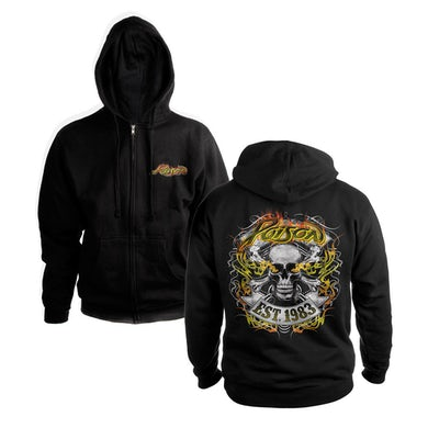 Rock Of Ages Skull Est. 1983 Hoody