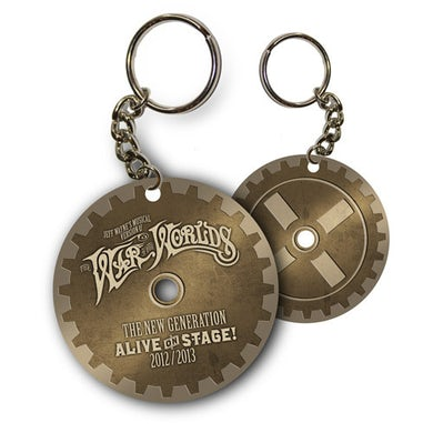 The War Of The Worlds TWOTW Metal Keyring
