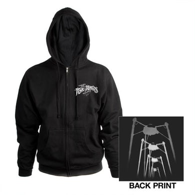 The War Of The Worlds TWOTW Charcoal Fighting Machines Hoody