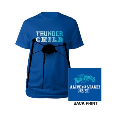 The War Of The Worlds TWOTW Blue Thunder Child Kids