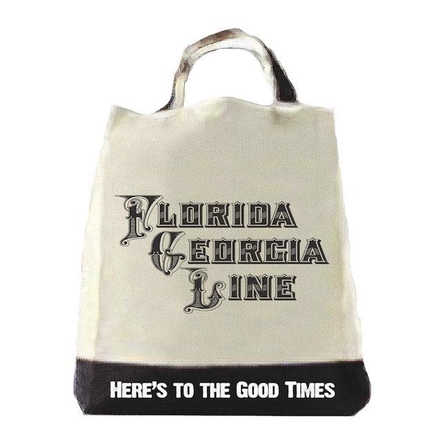 Florida Georgia Line Here's to the Good Times Tote Bag