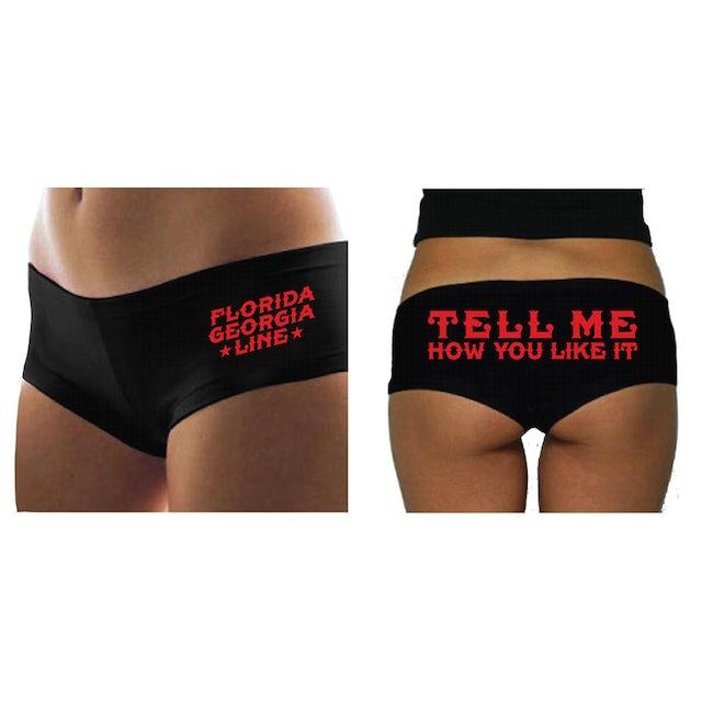Florida Georgia Line Tell Me How You Like It Hot Shorts