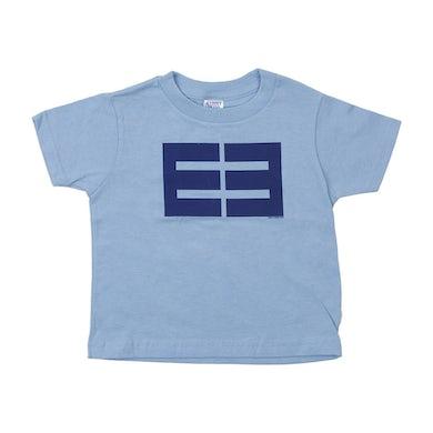 Emblem3 Block Logo Lt. Blue Toddler Tee