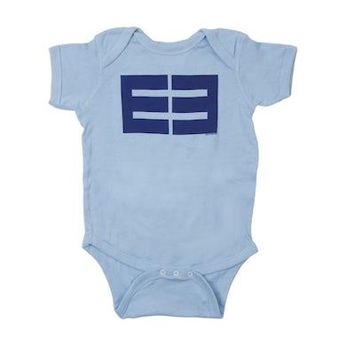 Emblem3 Block Logo Lt. Blue Onesie