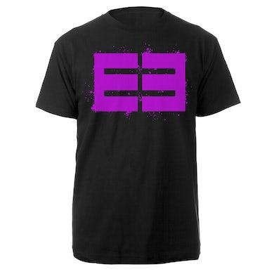 Emblem3 Splatter Logo Black Tee