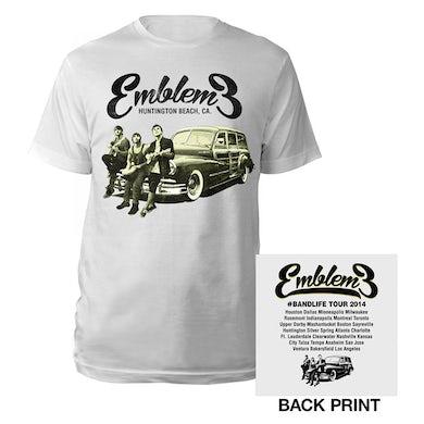 Emblem3 Car Photo  Tour Tee