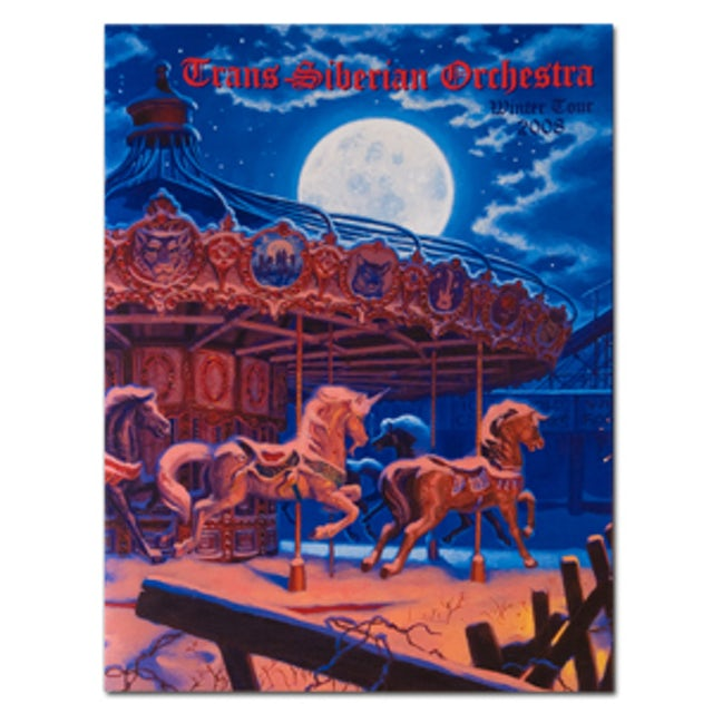Trans-Siberian Orchestra Trans-Siberian 2008 Tour Program - West