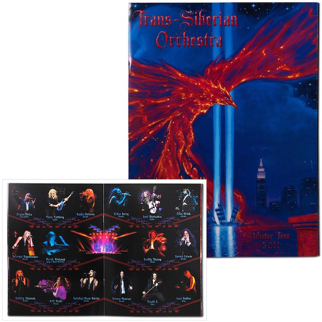 Trans-Siberian Orchestra Tour Program East 2011