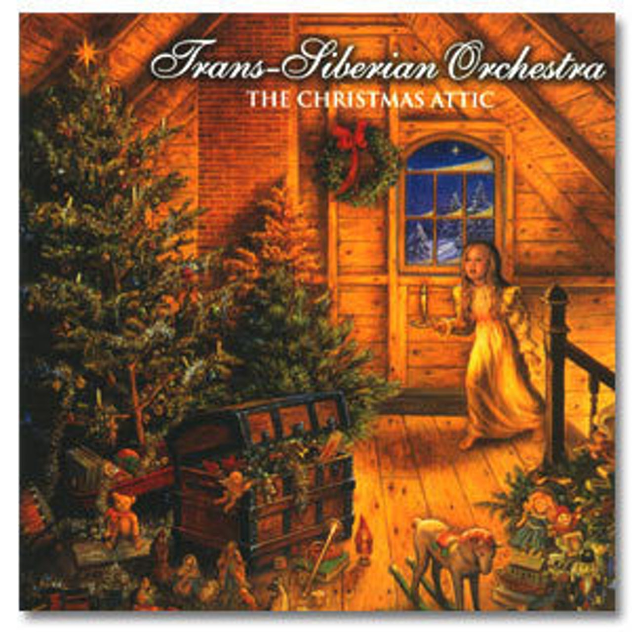 Christmas Attic.Trans Siberian Orchestra S The Christmas Attic Cd