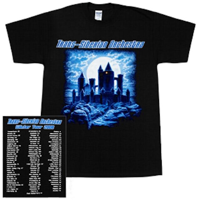 Trans-Siberian Orchestra Night Castle 2008 Tour T-Shirt