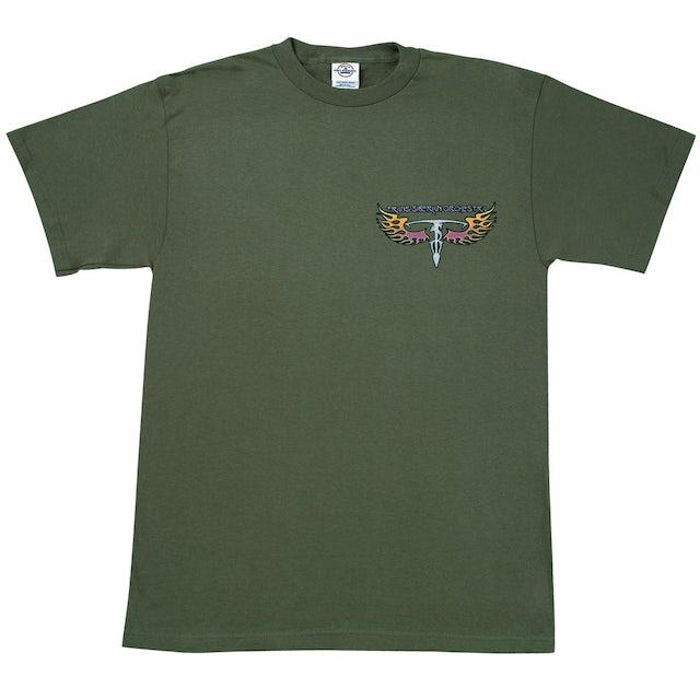 Trans-Siberian Orchestra Green Wings T-Shirt