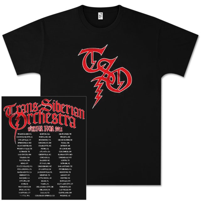 Trans-Siberian Orchestra Crest T-Shirt