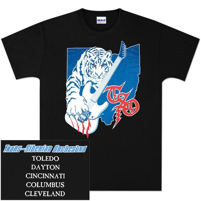 Trans-Siberian Orchestra Ohio Event T-Shirt