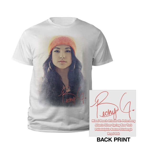 Becky G T Shirt   Portrait Youth Tee