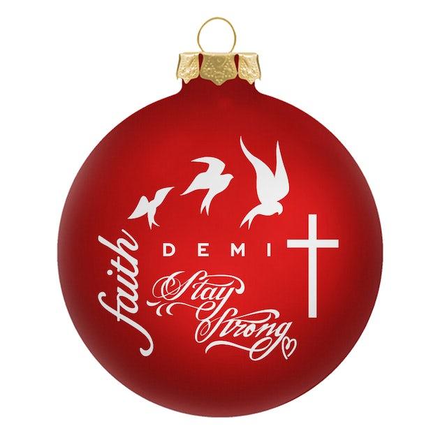 Demi Lovato DEMI Ornament