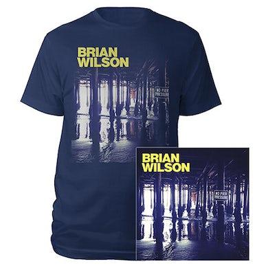 Brian Wilson Hand Signed! No Pier Pressure 2 LP Vinyl, Tee, & Digital Album