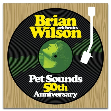 Brian Wilson 50th Anniversary Poster