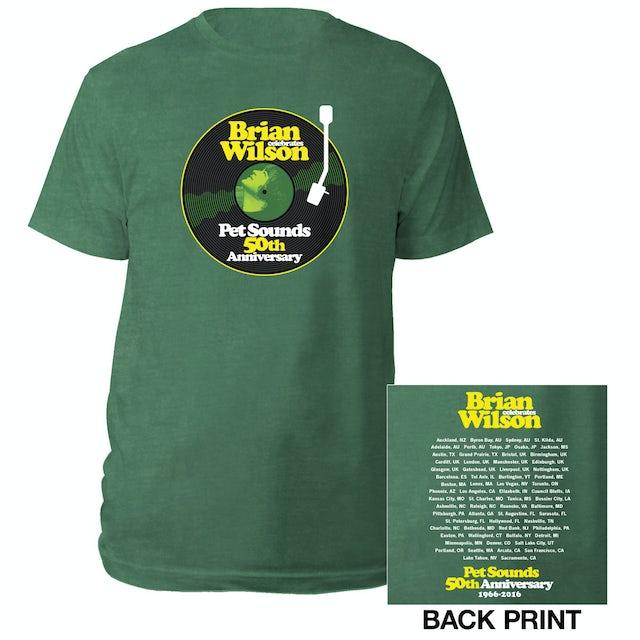 Brian Wilson Pet Sounds 50th Anniversary Tour Tee