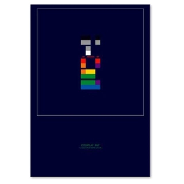 Coldplay X & Y Lithograph