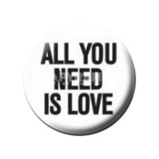 John Lennon All You Need Is Love Button